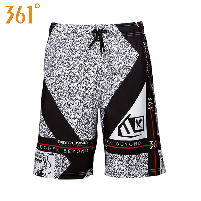 361 Men   Board     Shorts   Quick Dry Beach Surfing Swimming   Shorts   2019 Mens Sports Trunks Boy Swim suit Male Swimwear Elastic Waist