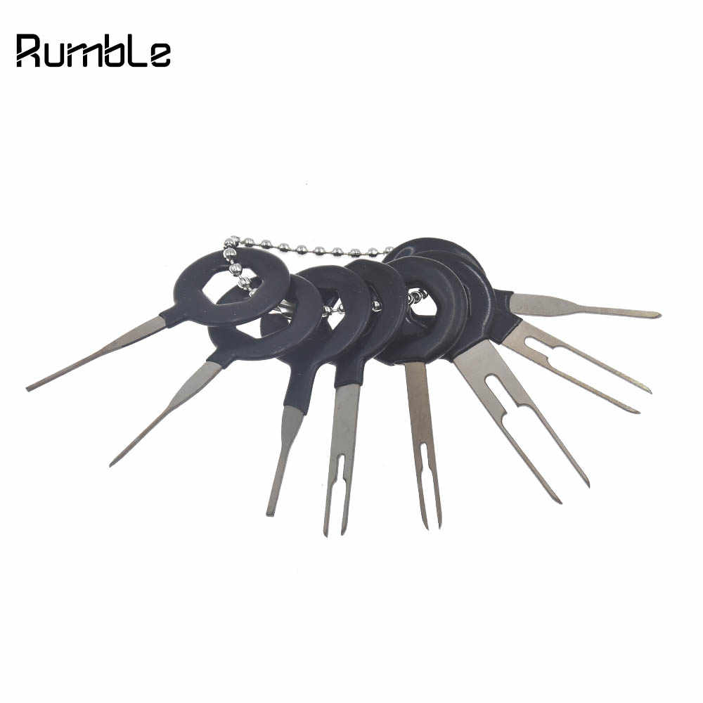 automotive terminal harness retractor electrical wiring crimp connector  pin extractor kit diy radio video car repair