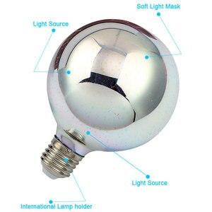 Image 2 - 3D Đầy Màu Sắc Sao LED Bóng Đèn Edison E27 220 V Đèn Trang Trí Mới Lạ Ánh Sáng A60 ST64 G80 G95 G125 Đám Cưới Kỳ Nghỉ đảng Ống