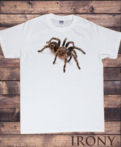 Mannen Wit Halloween Scary Spider-spooky 3d Tarantula-horror Ontwerp 2019 Nieuwe Fitness Kleding Mannelijke Crossfit Sport T Shirts
