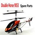Double Horse DH 9053 RC Helicóptero Accesorios de los Recambios Palas Principales, agarre, Eje principal, Motor, Mando a distancia, receptor
