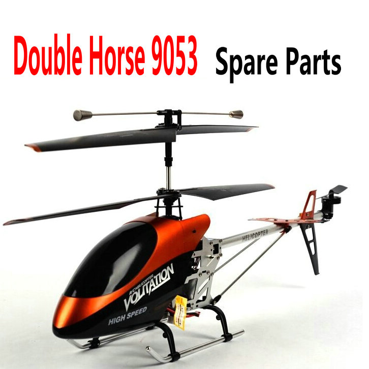 Double Horse DH 9053 RC Helicopter Spare Parts Accessories Main Blades, Grip, Main Shaft, Motor, Remote Controller, Receiver