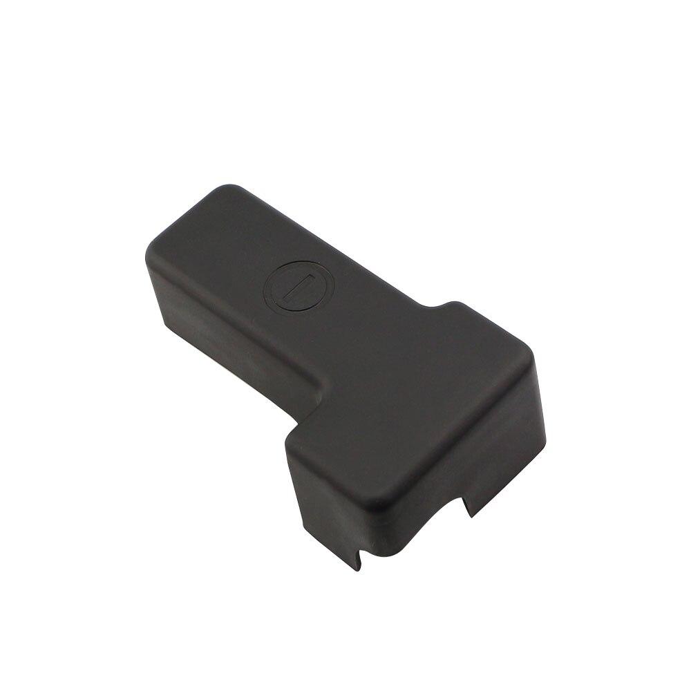 Jameo Auto Negativo Da Bateria Do Carro Tampa de Proteção Quadro Caso Clipe ABS Capas para Nissan Patrol Y62 Armada 2016-2018 acessórios