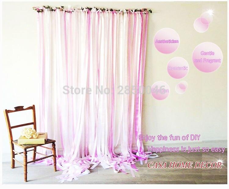 Înălțime 0.5M Panglică DIY Decorată Panglică de perete de - Produse pentru sărbători și petreceri