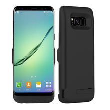 For font b Galaxy b font font b S8 b font Case 6500mAh Battery Charger Case