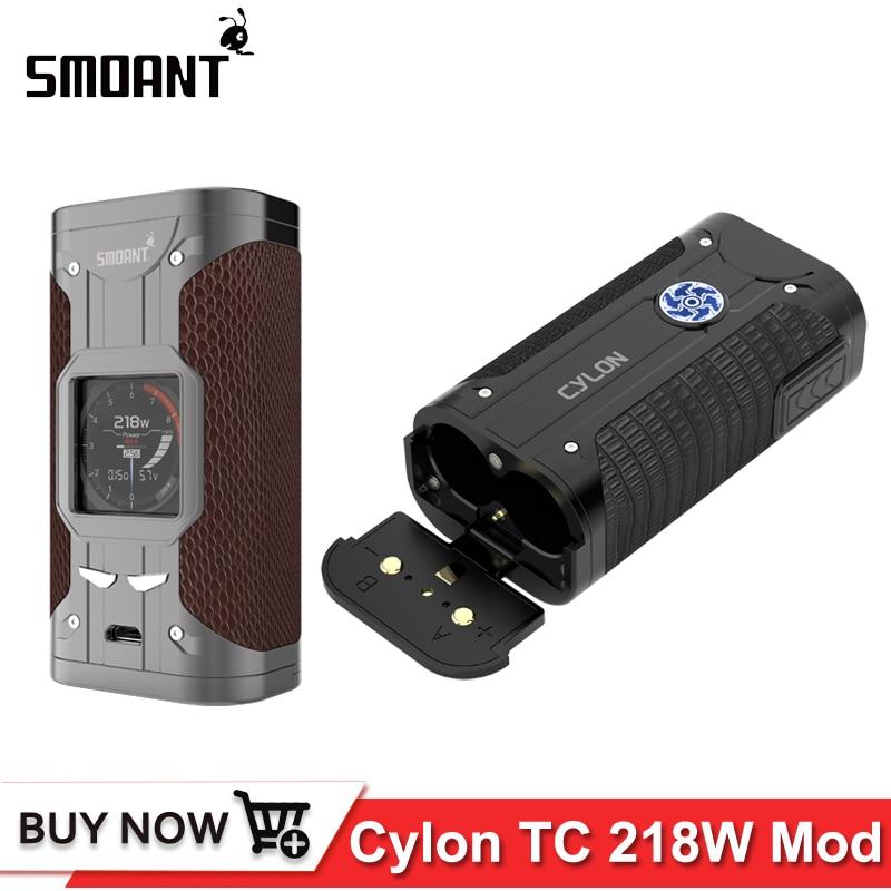 Original Electronic Cigarette Mod Smoant cylon TC 218w Box Mod 218 E Cigarettes 1 3 inch