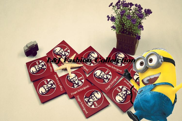 Idea Gift Creative Uncle KFC Portable Condoms Birthday For Boy Friends And Girl ART2385 Free Shipping