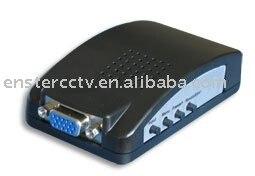 AV TO VGA Converter CCTV Accessories Video Balun