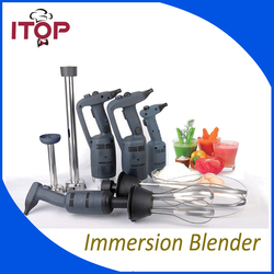 ITOP 500W Immersion Blender Commercial Heavy Duty Handheld Food Mixing 110V 220V 5 size can be choosen