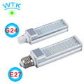1pcs E27 G24 G23 LED Horizontal Plug lights,high quality Led ,LED Bulb Lamps durable SMD2835 LED Lamps 5w/7w/9w/11w/13w