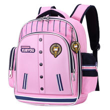 Children Schoolbag Backpack Teenager Large Waterproof Orthopedic Student Grade 1-6 Primary School Bags For Boys Girls(China)