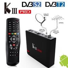[Genuine] KIII Pro DVB-S2 DVB-T2 Android 6.0 Hybrid Smart TV