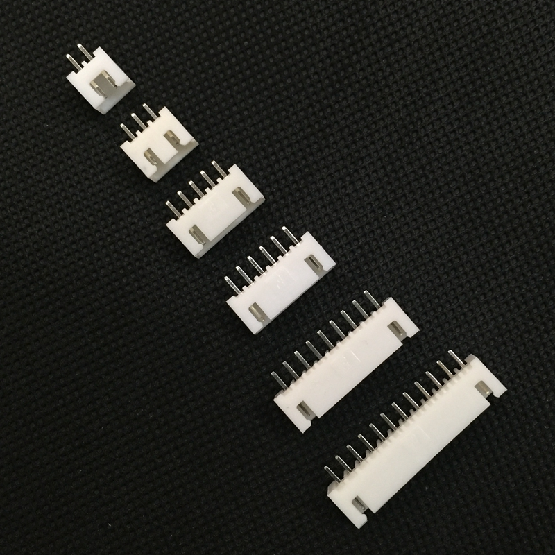 все цены на  100pcs XH 2.5 2.54mm 2P 3P 4P 5P 6P Male Connector Pitch Terminal / Housing / Pin Header Connector JST  онлайн