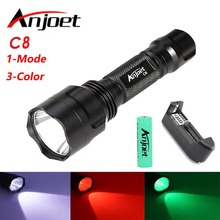 led camping 1mode White/Green/Red