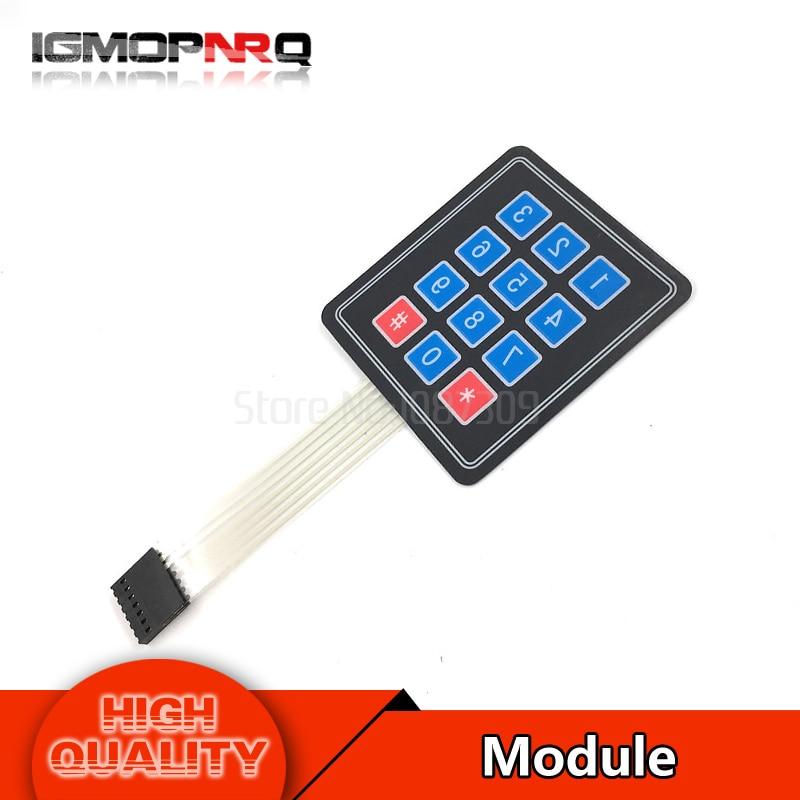 5 шт. 4 х 3 Матрица Массив Матрица клавиатура 12 ключ клавиатурный