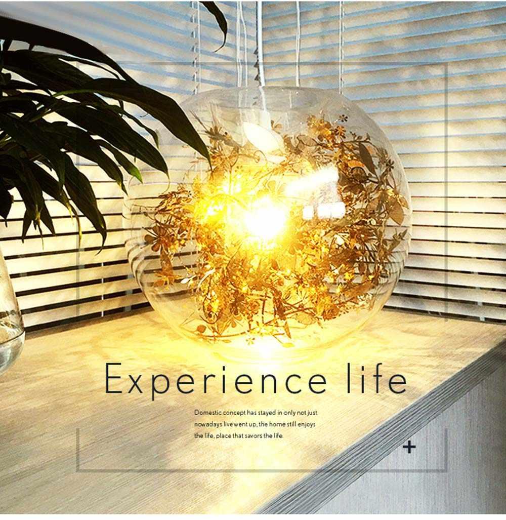 Скандинавский современный дизайн 3D Золотой шар светодиодный стеклянный Потолочный подвесной светильник лампа для гостиной Лофт кухня Лофт столовая Бар