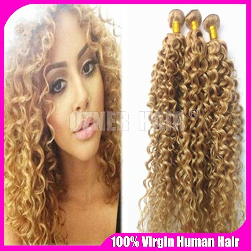 3 Bundles Light Brown Virgin Hair Weaves 7a Unprocessed