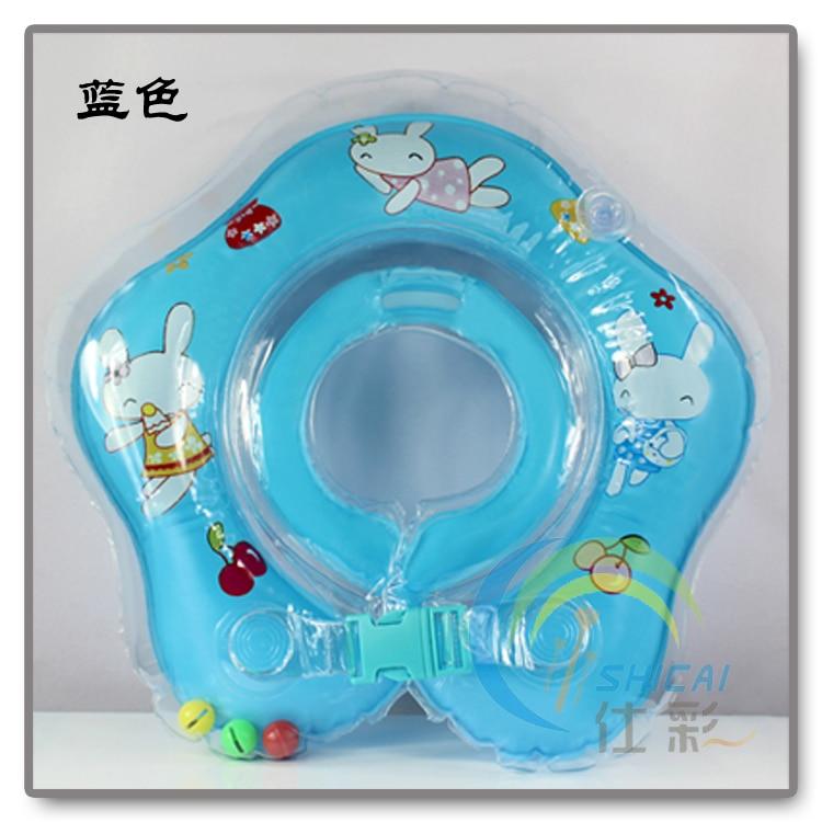 2014 new  Flower-shaped circle baby neck ring child swim ring baby swimming neck ring  free shiping 37cm 145g