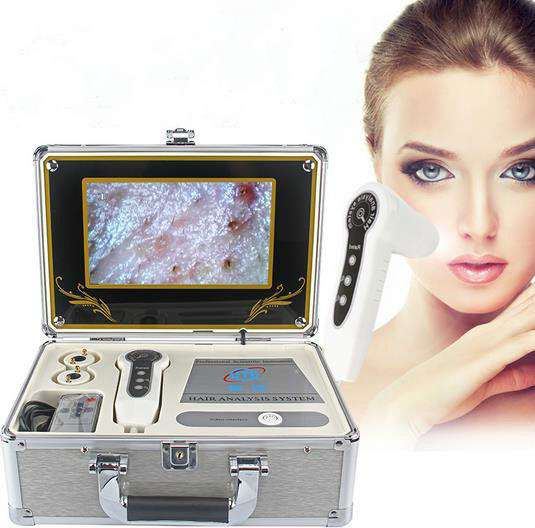 For skin by computer and TV USB skin detector hair hair follicles analyzer testing instruments design a spam detector by analyzing user and e mail behavior