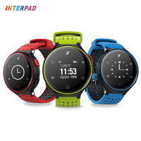 2017 Interpad New Blood Pressure Smart Watch Blood Oxygen Smartwatch Support Pedometer Heart Rate Monitor With