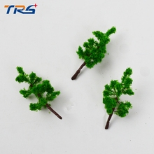 лучшая цена Customized Model Tree/architecture model tree/ model wire sponge tree ,100% quality guaranteed