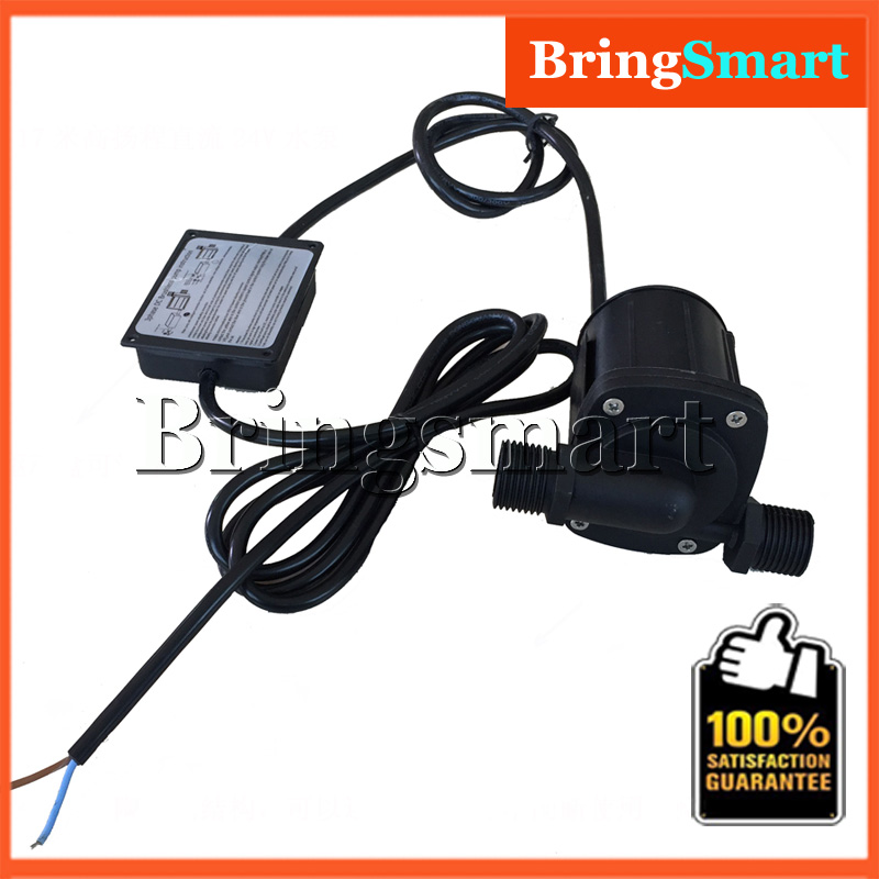 Bringsmart SR-1000C-T 630-1200L/H 7-17M High Lift Well Pump 12V DC Brushless Booster Pump 24V Solar Water Pump Submersible Pump 50mm 2 inch deep well submersible water pump deep well water pump 220v screw submersible water pump for home 2 inch well pump
