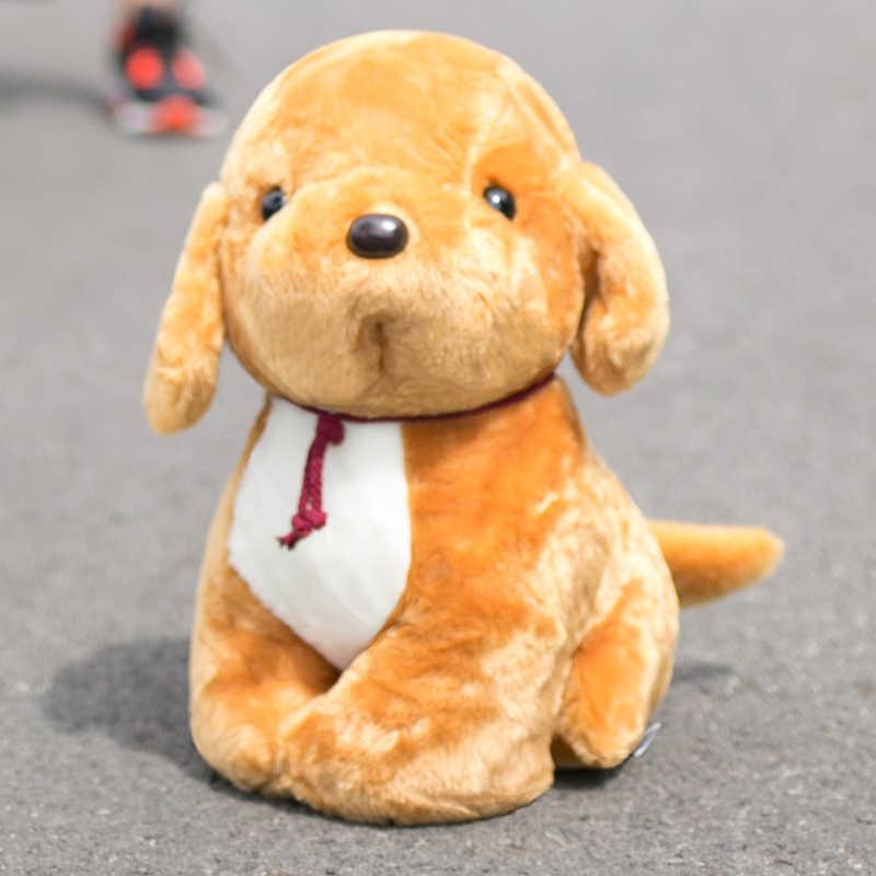 1 adet 20 cm Sevimli Doodle Köpek peluş oyuncak Yumuşak Kawaii Yavru Köpek Bebek Çocuk Oyuncak Karikatür Hayvan Doğum Günü noel hediyesi için kız Çocuk