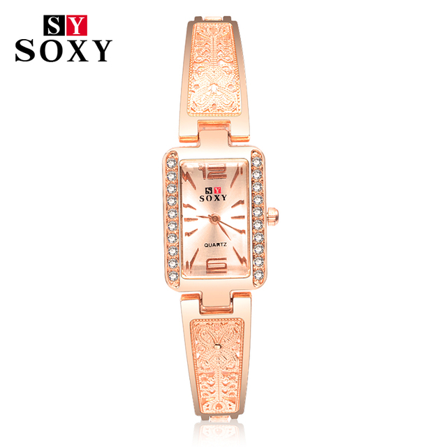 2018 Fashion Wrist Watch SOXY Luxury Brand Female Quartz Watch Unique Designer B
