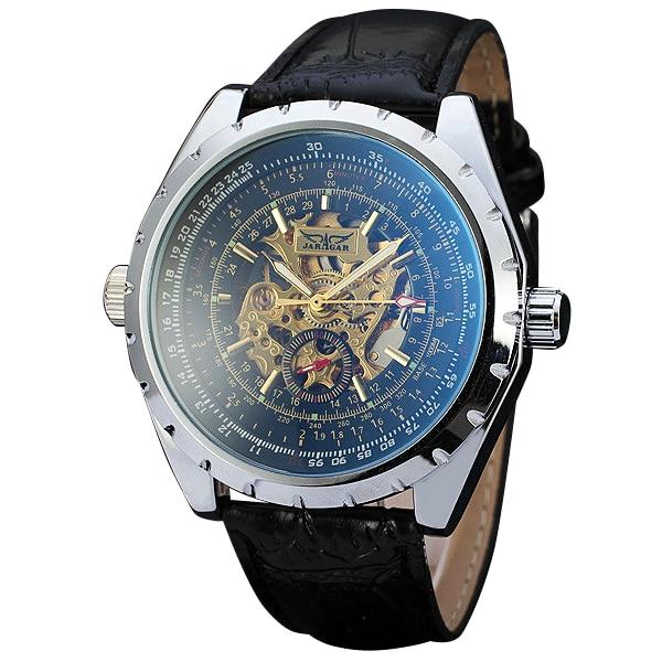 font b WINNER b font Men s Military Wrist Watches Top Brand Luxury Automatic Mechanical