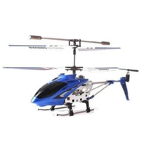 Image 2 - Syma Helicóptero De control Remoto de tres canales S107G, anticolisión, anticaída, equipado con giroscopio de aleación, Original