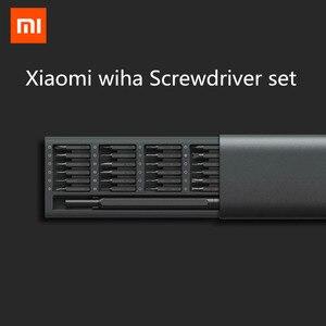 Image 2 - Xiaomi mijia メーカー毎日使用するドライバーキット 24 精密磁気ビット alluminum ボックススクリュードライバー xiaomi スマートホームキット