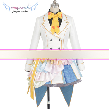 ZOMBIE LAND SAGA Hoshikawa Lily Cosplay Costumes Clothes , Perfect Custom for You !