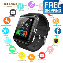 2019 New U8 Smart Watch Bluetooth Smartwatch U80 for IPhone 6 / 5S Samsung S6 / Note 4 HTC Android Phone Smartphones Android gv09 bluetooth android sim samsung htc sony