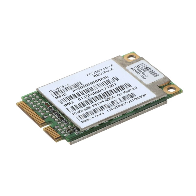 IBM For Thinkpad GOBI1000 X200 X301 T400 T500 W500 3G WWAN Card 42T0961 UNDP1