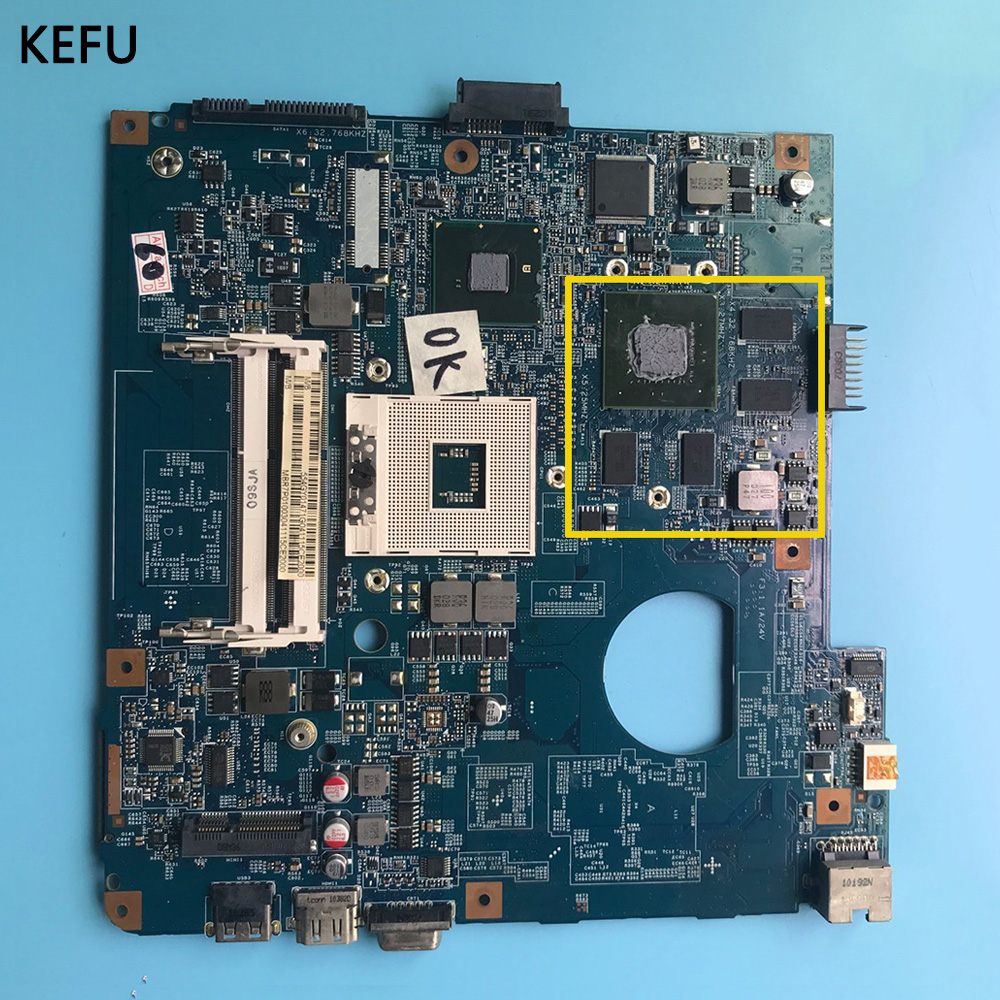KEFU For ACER 4741 4741g Laptop Motherboard 09920 3 JE40 CP 48 4GY02 031 Mainboard with