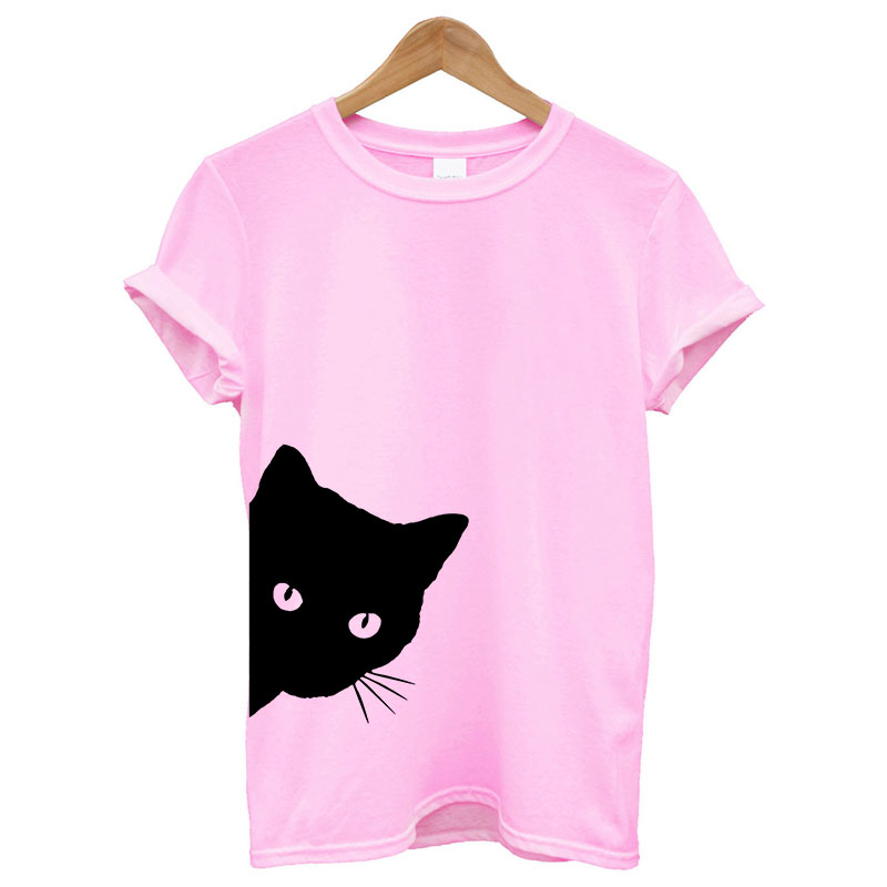 Cotton Casual Funny Printed T Shirt 25
