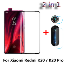 2 in 1 Full Protection Screen Protector Glass Film For Xiaomi Redmi K20 Mi 9T Pro Back Camera Lens Tempered Glass Redmi K20 Pro