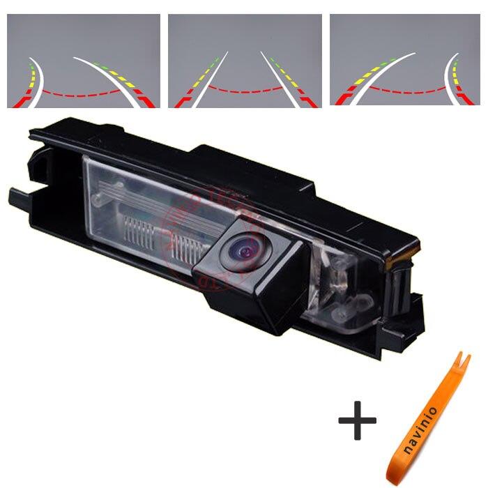 Caméra de recul de trajectoire de voiture CCD caméra de recul de voiture de recul pour toyota RAV4 étanche NTSC PAL (en option)