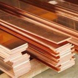 1pc New 99% Purity Copper Strip T2 Cu Metal Copper Bar Plate 2*10*250mm DIY CNC