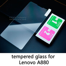 Glossy Lucent Frosted Matte Anti glare Tempered Glass Protective Film On Screen Protector For Lenovo A859