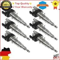 6 pieces Petrol Fuel Injectors For BMW N54 N63 135 335 535 550 750 X5 X6 Z4 3.0 13537585261 13538616079 New