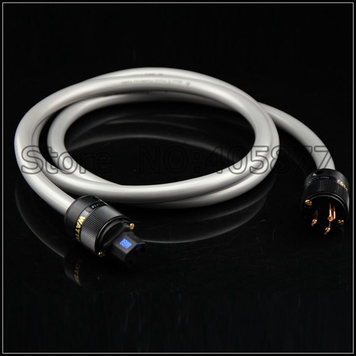 hi end audio audio ISIS 4N pure copper US power cable for CD AMP hifi power cord cable 1.5M viborg audio power cable us ac power cord cable 2m high quality hi end us plug cable