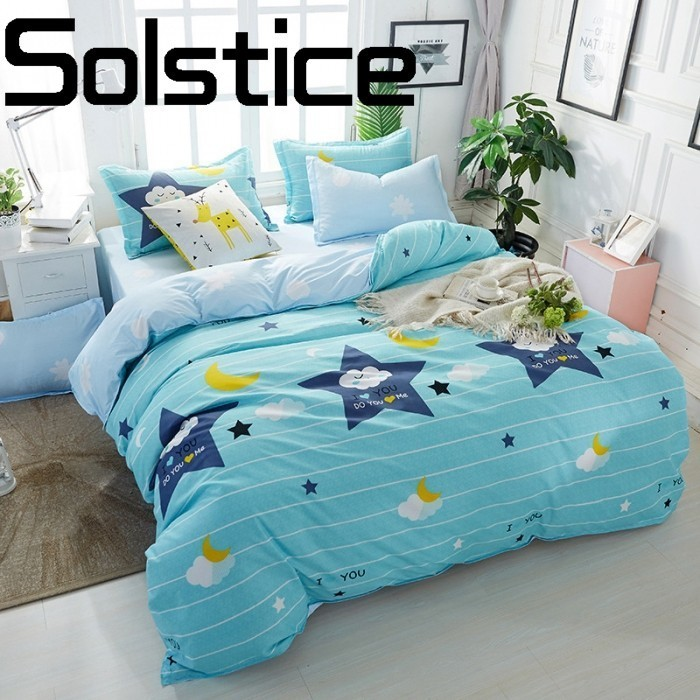 Solstice Home Textile Dry and comfortable and active printing scenery 3/4pcs bedding Bed linen Quilt cover Pillowcase 30Solstice Home Textile Dry and comfortable and active printing scenery 3/4pcs bedding Bed linen Quilt cover Pillowcase 30