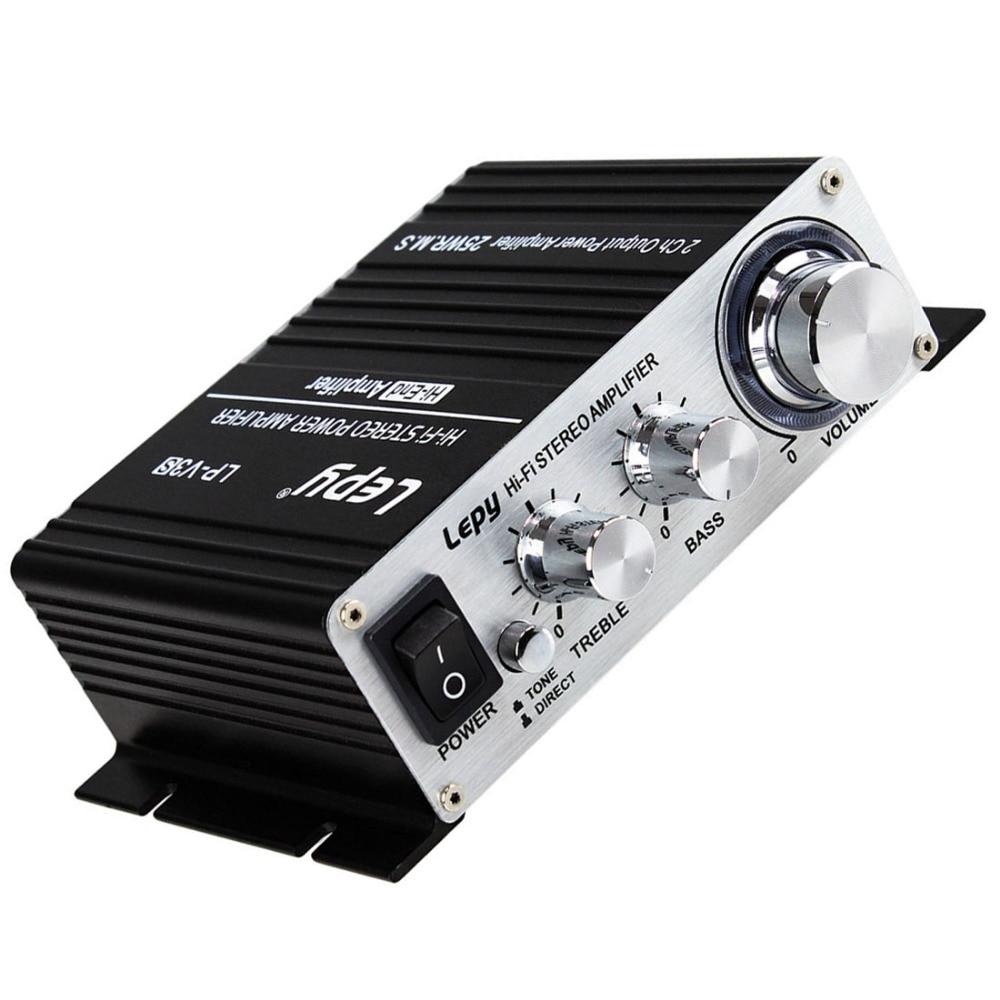 Lepy Mini 700W Hi-Fi 12V Stereo Amplifier MP3 iPod Motorcycle Car Amp