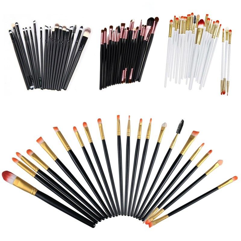 20pcs Professional Makeup Cosmetic Brushes Set For Women Soft Foundation Eyeshadow Eyeliner Lip Brush Tool Accessories цена и фото