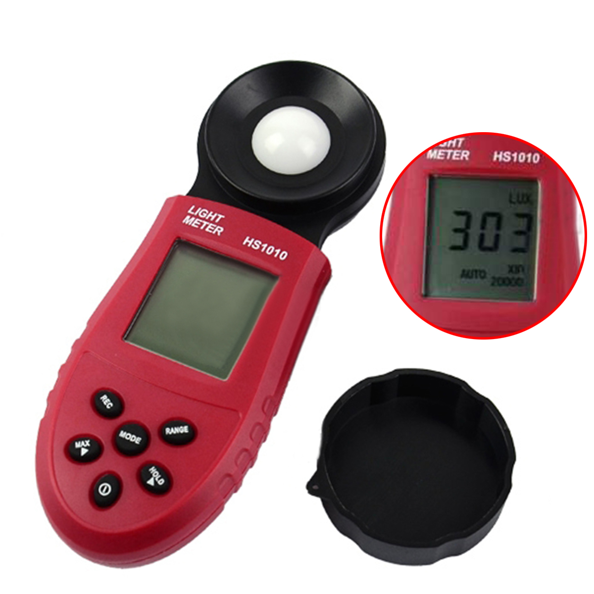 1pc Precision 200,000 Lux Light Meter Digital Light Meter Luxmeter Lux/FC Meter Luminometer Photometer Tester лак для ногтей orly permanent collection 732 цвет 732 snowcone variant hex name 5091cd