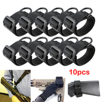 10 Pcs Hunting ButtStock Sling Adapter Universal Fit for Shotgun Rifle Attachment Mount