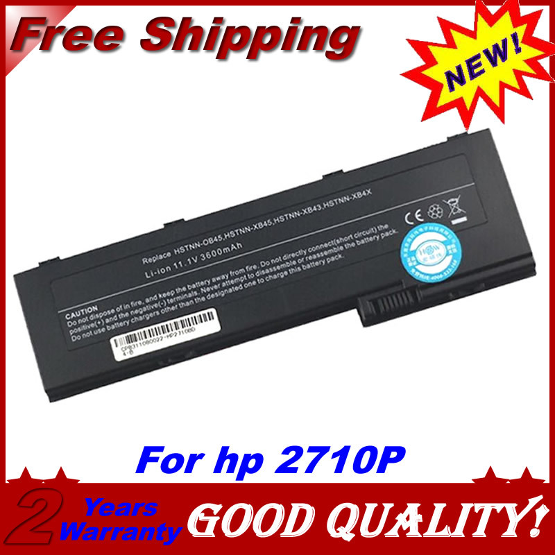 JIGU Laptop Battery For HP EliteBook 2740p 2740w 2730p 2760p 2710p HSTNN-CB45  HSTNN-XB4X NBP6B17B1 OT06XL AH547AA BS556AA