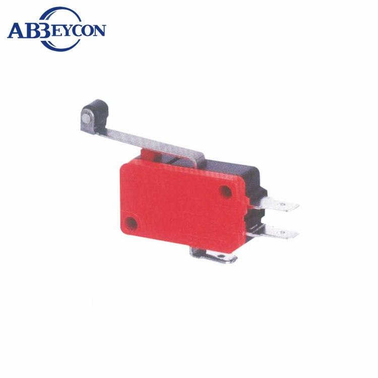 10x mini micro switch avec rouleau limiteur de course action Snap 3 broches FR