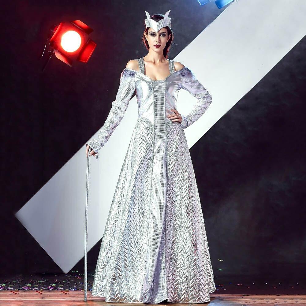 Glace reine costume achetez des lots petit prix glace - Robe reine des glaces ...